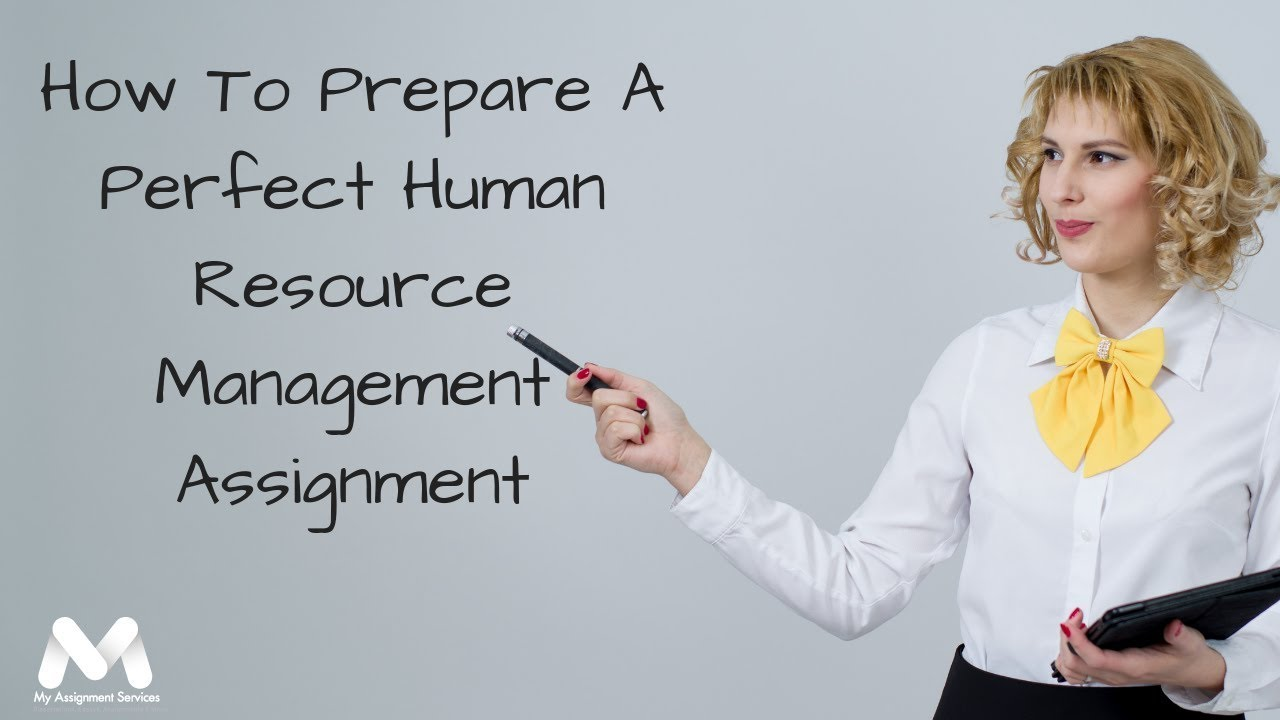 Looking For Unmatched Human Resource Assignment Help From Experts?