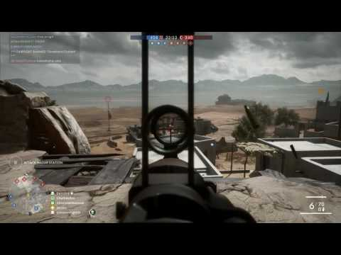 Battlefield 1 - Conquest match 20 - medic - 1080p 60fps PC - No commentary