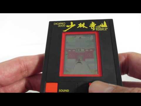 16414 TOMY LSI Game DIGIPRO-3000 Kung-Fu Shaolin Temple
