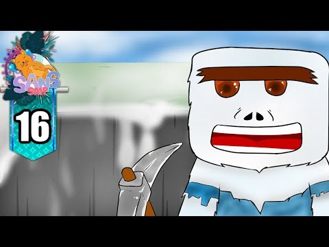 Minecraft Sans SMP - Lubang Kawah Hitam! (16)