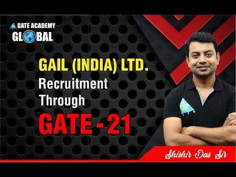 GAIL (INDIA) LTD.   Recruitment Through GATE 21