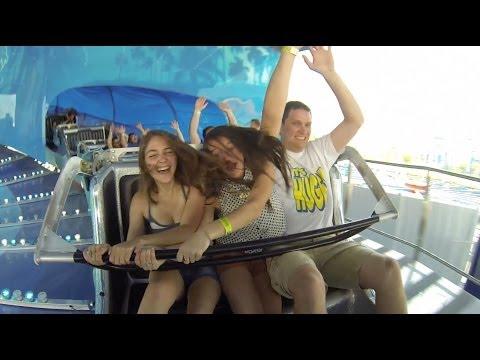 Rip Curl Ride Fun Spot America Orlando Florida Onride Footage