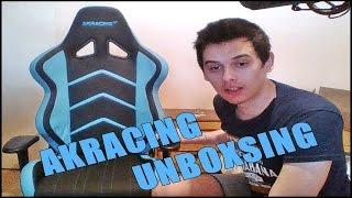 Vlog - UNBOXING AKRACING GAMING CHAIR & PREDATOR HEADSET