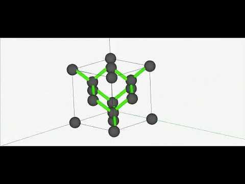 Diamond structure Animation