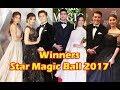 WINNERS at Star Magic Ball 2017 - Kathryn, Julia, LizQuen, KissMarc, Pia, Luis, and Jessy