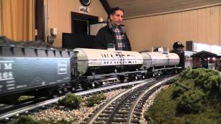 Lionel And Mth Trains On The Bergen County Model Railroad Club Home Layout In Hd