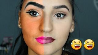 UNE BEURETTE VS UNE FILLE NORMALE ? faux pas maquillage - basma