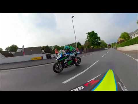 Isle of Man TT - 2018 🇮🇲  Listen to the sound of SUTER mmx 500
