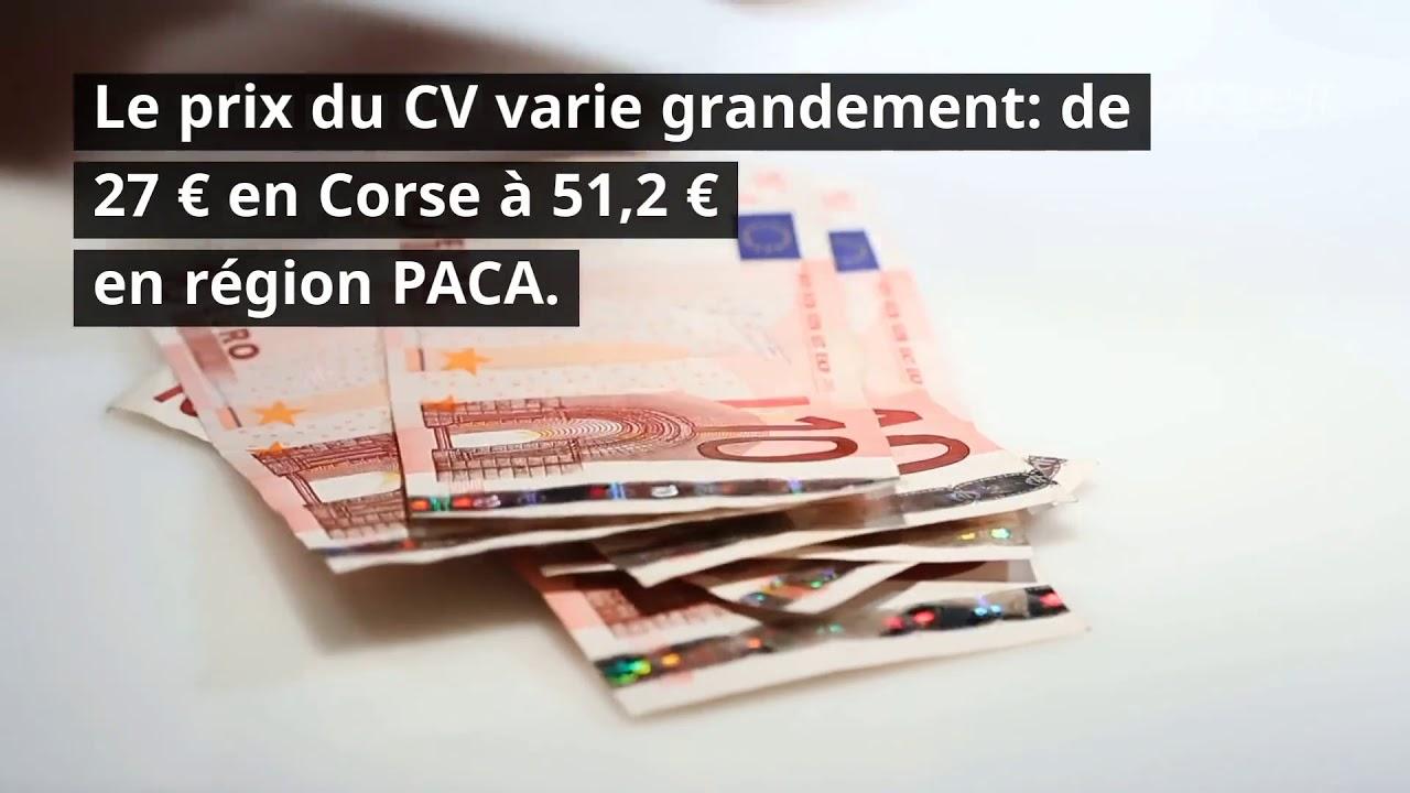 Prix Du Cheval Fiscal Et Carte Grise