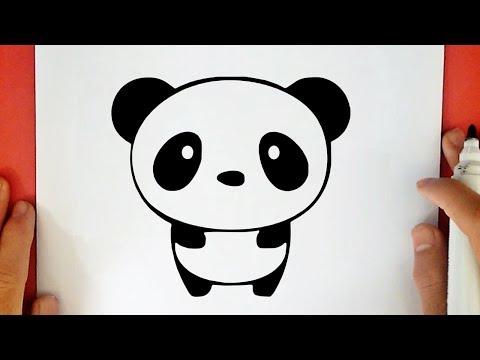 Como Desenhar Um Panda Kawaii Youtube