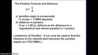 Astronomy: Parallax