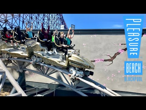 Another Blackpool Pleasure Beach Vlog 3rd June 2018