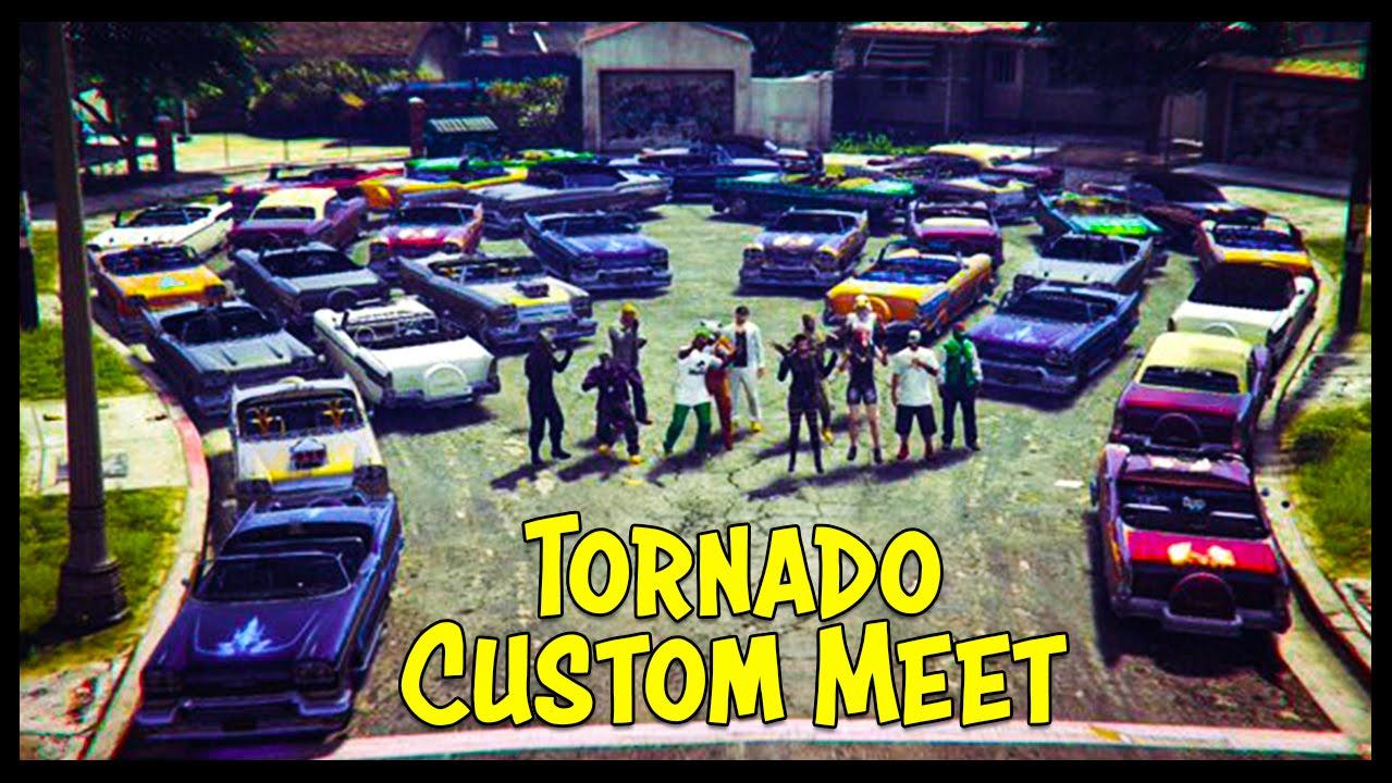 gta 5 online new tornado custom car show best looking cars youtube. Black Bedroom Furniture Sets. Home Design Ideas