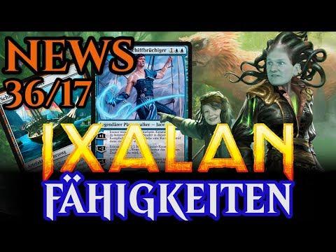 Magic News 36 Ixalan Fähigkeiten & Mechaniken deutsch traderonlinevideo MTG Trader TOV