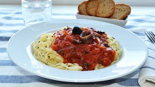 Sicilian-style Pasta With Anchovies - Easy Pasta Alla Siciliana Recipe