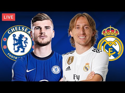 CHELSEA vs REAL MADRID - LIVE STREAMING - Champions League - Football Match
