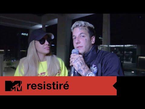 MTV Resistiré  Alex y Charlotte se confesaron antes de ingresar a Resistiré