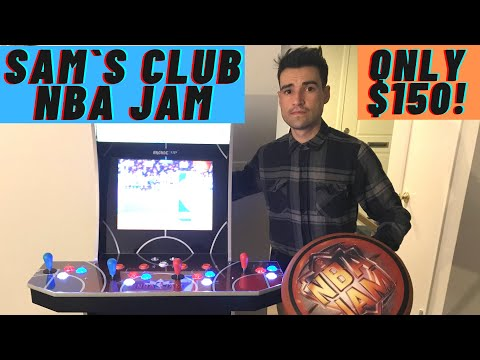 FOUND THE ARCADE1UP NBA JAM SAM`S CLUB EDITION CABINET FOR ONLY $150 from Brick Rod