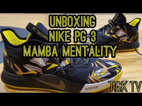 Unboxing: NIKE PG 3 'Mamba Mentality