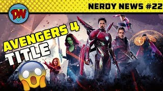 Tom Cruise in DC, Female Avengers, Spiderman New Villain, Avengers 4 Title | Nerdy News #22