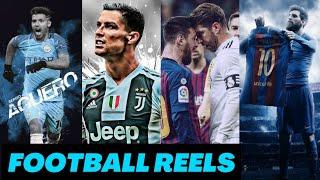 Football reels | football Instagram reels | football reels compilations | Instagram football reels
