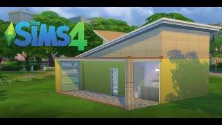The Sims 4 Türkçe | Ev Yapımı - Modern Başlangıç Evi ( 10k Challenge )