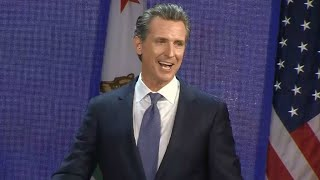RAW: Governor-Elect Gavin Newsom Speaks After Victory