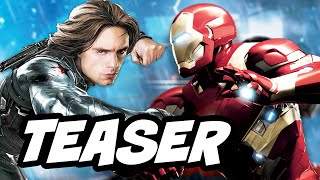 Captain America Civil War - Winter Soldier vs Avengers Teaser Breakdown