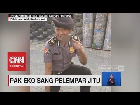 "Viral! Pak Eko Sang Pelempar Jitu, ""Masuk Pak Eko!"""