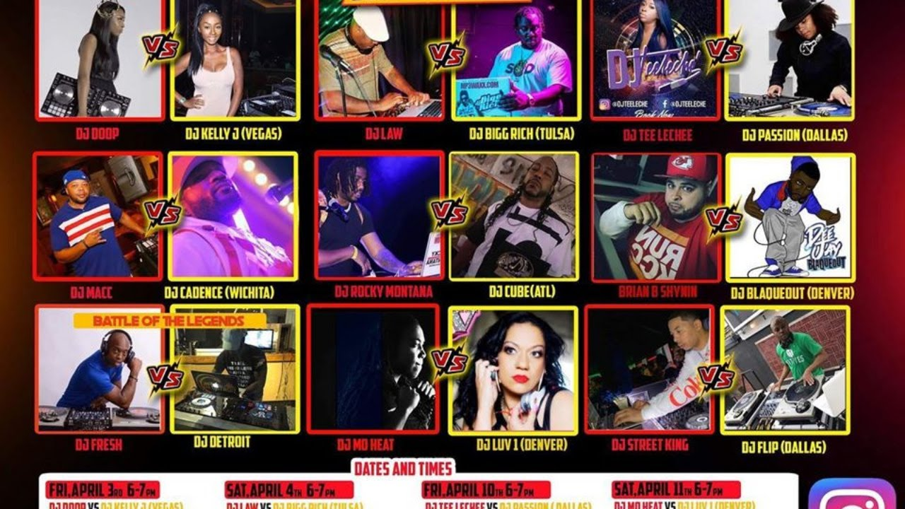 KC vs. The Nation DJ Spin Off