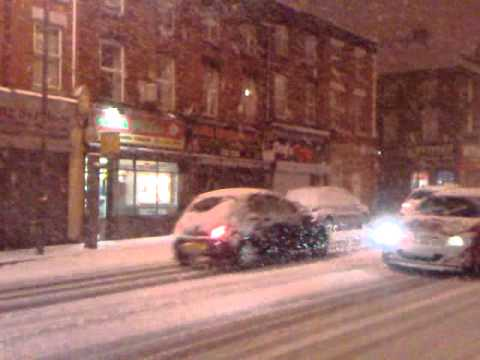 Liverpool, Smithdown road (Toxteth), zima
