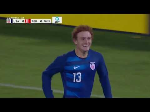 MNT vs. Peru: Josh Sargent Goal - Oct. 16, 2018