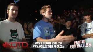 KOTD - Rap Battle - Tricky P/Charron vs Soul Khan/Kap Kallous | #WD1