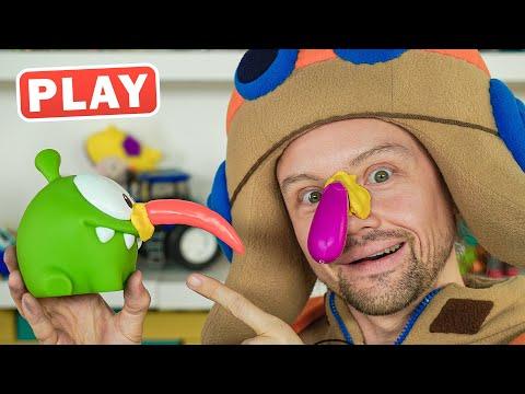 КукуPlay - Снеговик Ам Ням - Праздник Новый год - Поиграйка с Егором