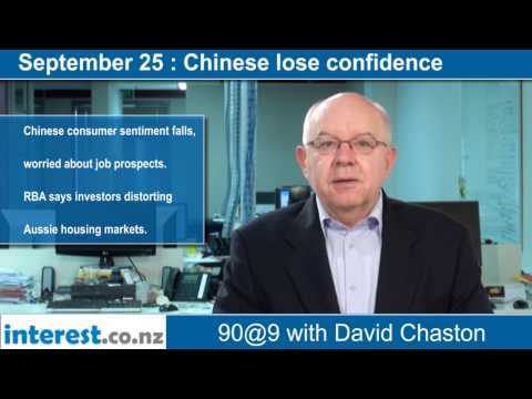 90 seconds @ 9am: Chinese lose confidence
