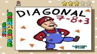 Super Diagonal Mario 2 - The Ultimate Meme Machine • Super Mario World ROM Hack