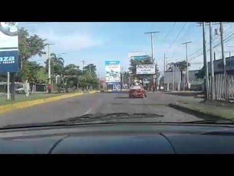 Así se encuentra Managua por el paro nacional