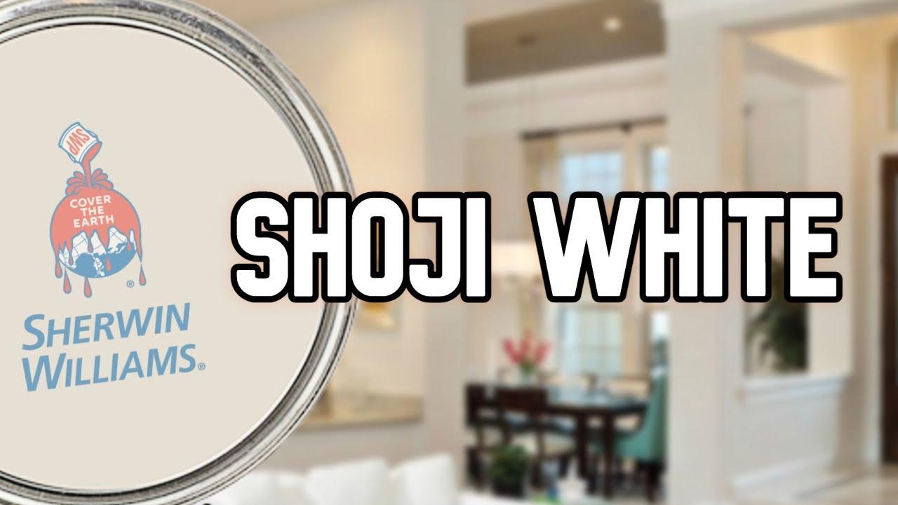 SHOJI WHITE BY SHERWIN WILLIAMS | Is it BEIGE or GRAY?
