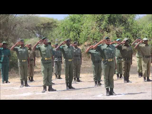 PAMS Foundation Tactical Anti Poaching Ranger Training - Burunge WMA