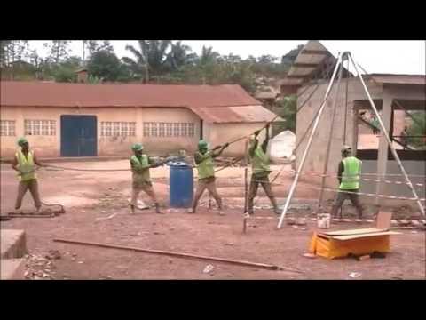 FloFlo drilling in Ghana