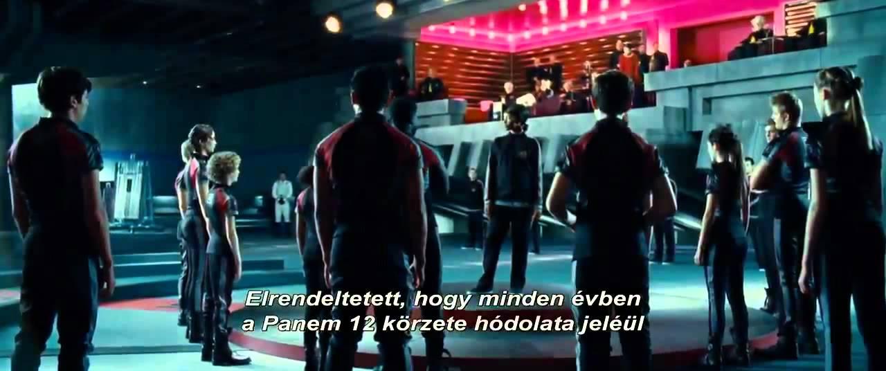 Az éhezők viadala (2012)- magyar feliratos előzetes [ HD ]