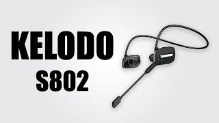 Kelodo S802 Wireless Sport Neckband Earbuds - UNBOXING