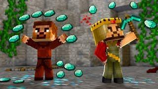 ARDA VE RÜZGAR MADENCİ OLDU! 😱 - Minecraft