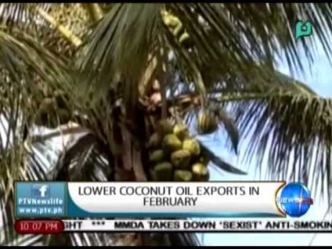 NewsLife: Lower coconut oil exports in February || Apr. 21, 2015