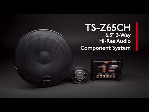pioneer ts z65ch z series 6 5 inc component speaker overview youtube pioneer ts z65ch z series 6 5 inc component speaker overview