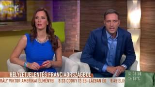 A franciák is ledöbbentek a magyar szurkolókon - tv2.hu/mokka