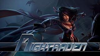 League of Legends: Nightraven Fiora (HQ Skin Spotlight)