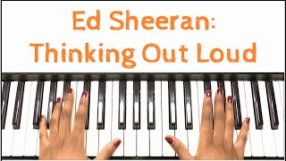 Baixar - Ed Sheeran Thinking Out Loud Piano Tutorial Grátis