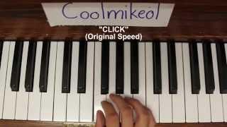 BASIC Piano Melody: Nisekoi OP 1 - CLICK
