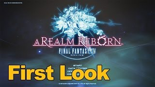 Final Fantasy 14 Gameplay First Look - MMOs.com